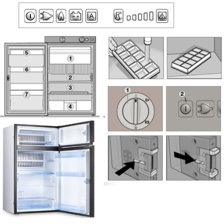 Picture for category Other spare parts for refrigerators