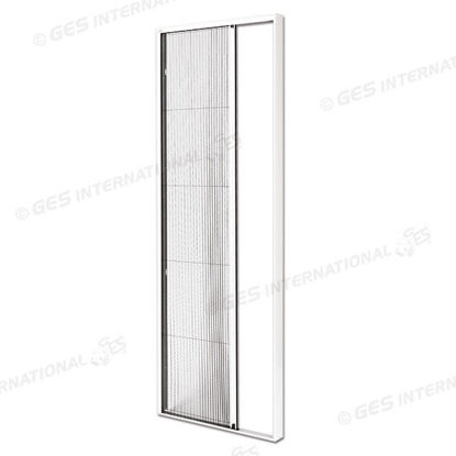Picture of Pleated mosquitonet with aluminium frame for doors