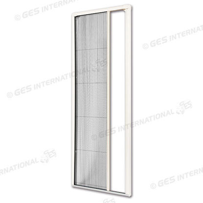 Picture of Pleated mosquitonet with PVC frame for doors
